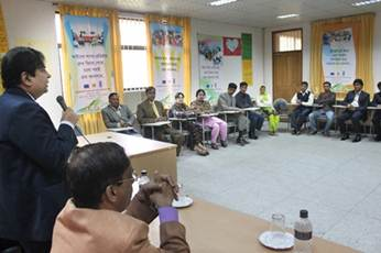 Description: A section of ToT participants is seen at NILG (2)
