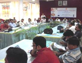 Description: Description: C:\Documents and Settings\nasheeba\Local Settings\Temporary Internet Files\Content.Word\Participants are seen at a district level media workshop on Village Courts at Faridpur.jpg
